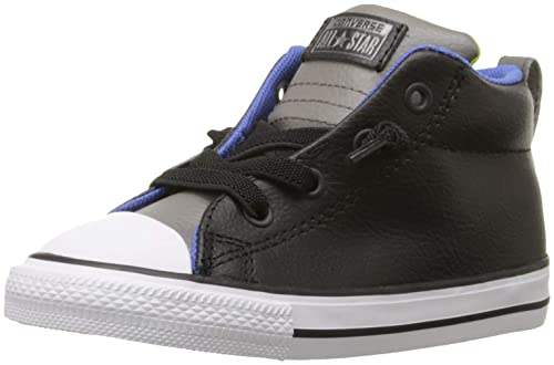 951301f2eeb6 Converse Kids Boys  Chuck Taylor All Star Street Mid Leather (Infant Toddler )