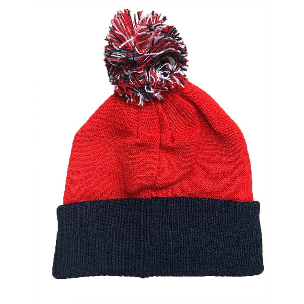 Amazon.com  Outerstuff New England Patriots NFL Youth Red Winter Hat   Clothing 6d6acd53701