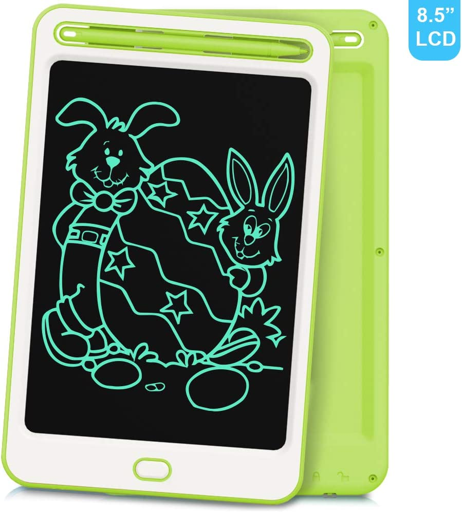 School,Office LCD Writing Tablet Richgv 8.5 Colorful Inches Electronic Writing /& Drawing Doodle Board with Memory Lock for Home