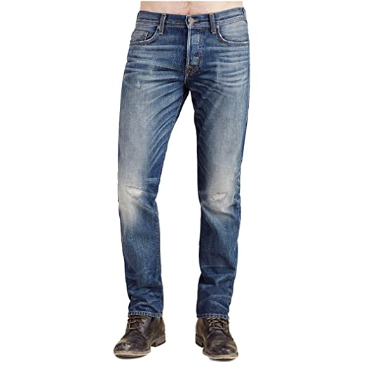 aef8a2e50 True Religion Men s Geno No Flap Relaxed Slim Fit Jeans in Lost Horizon ...