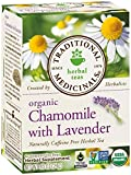 Traditional Medicinals Teas Organic Chamomile with LavenderTea Bags, 16 Count