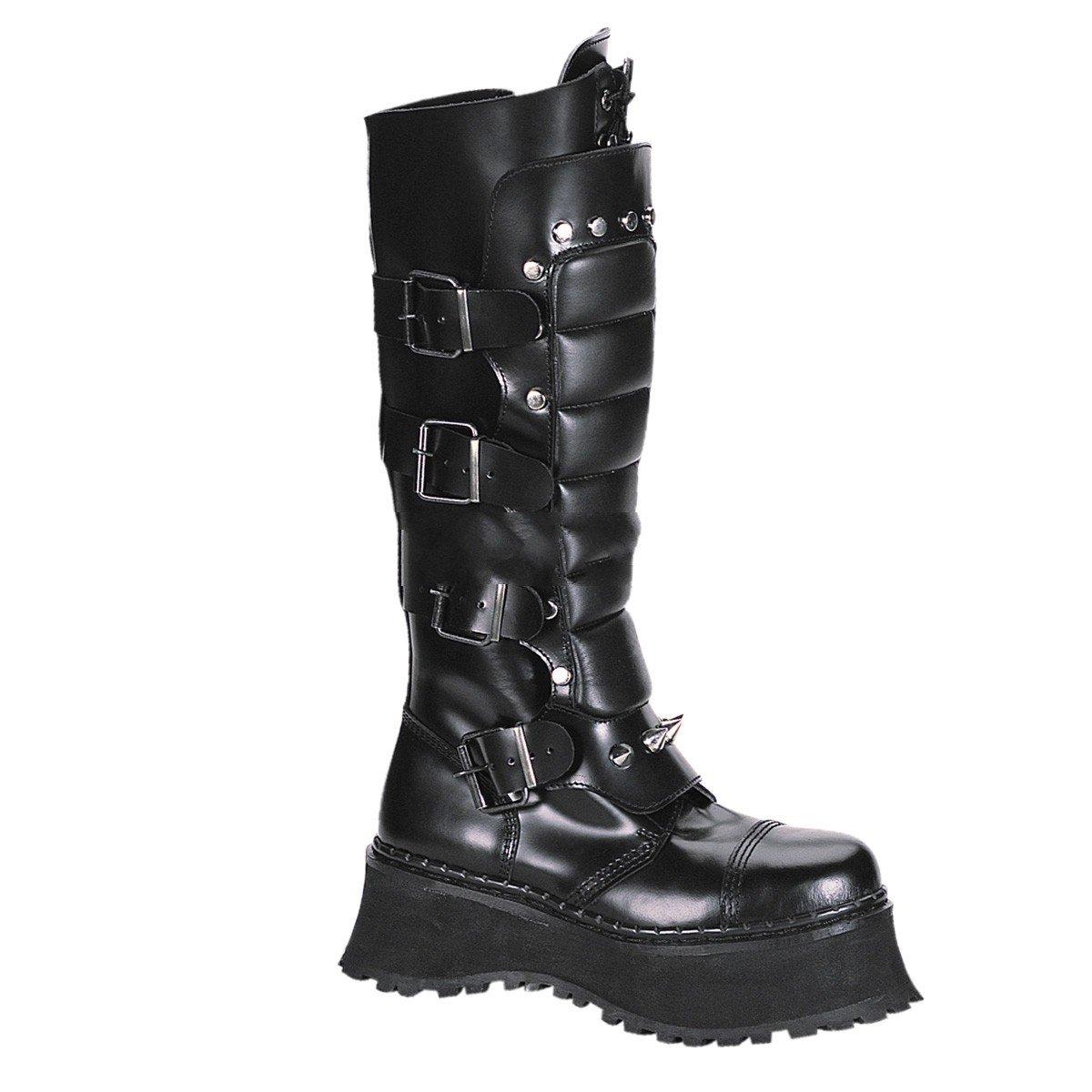 Demonia Ravage-II - Gothic Punk Industrial Industrial Industrial Ranger Stiefel Stiefel Schuhe 36-46 5e7812