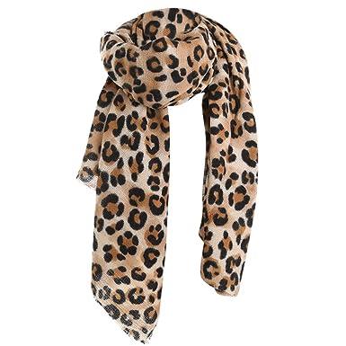 conception adroite choisir le dernier qualité Écharpe Femme Leopard Écharpe Longues Grande Chaude Chic ...