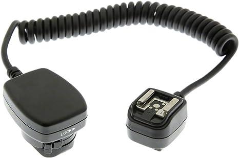 TTL Off de cable extensible de Flash para cámaras réflex digitales ...