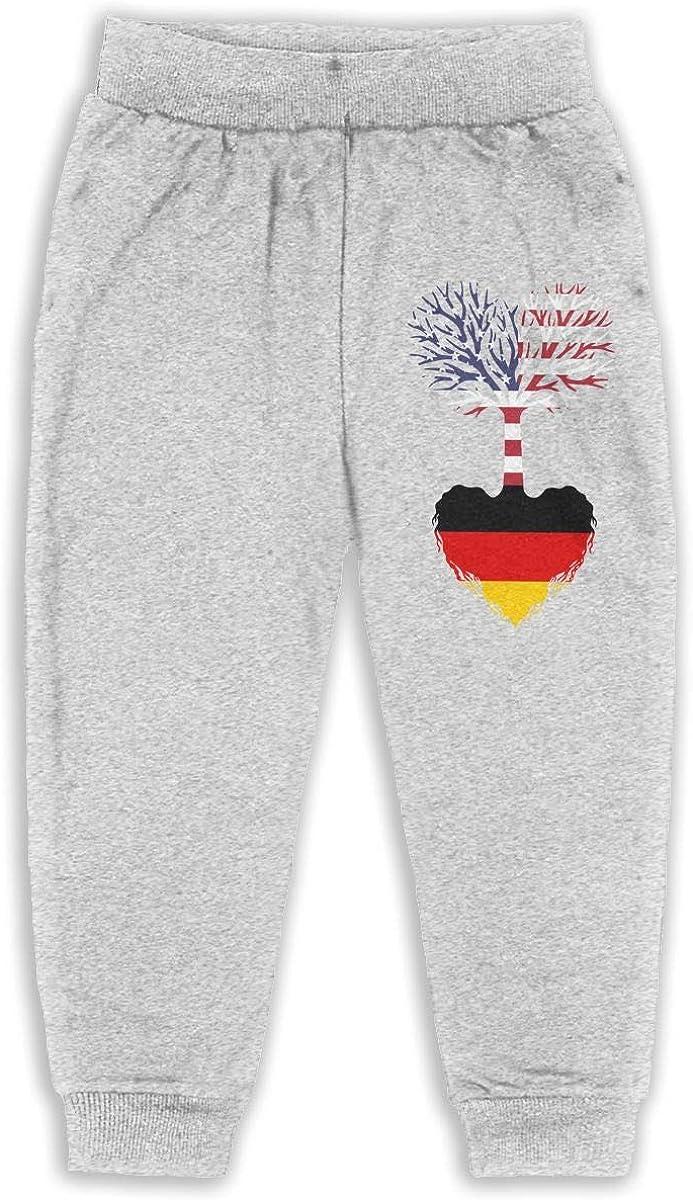 ELCW37K Kids /& Toddler Pants Soft Cozy Baby Sweatpants American Grown German Root Fleece Pants Jogger Pants