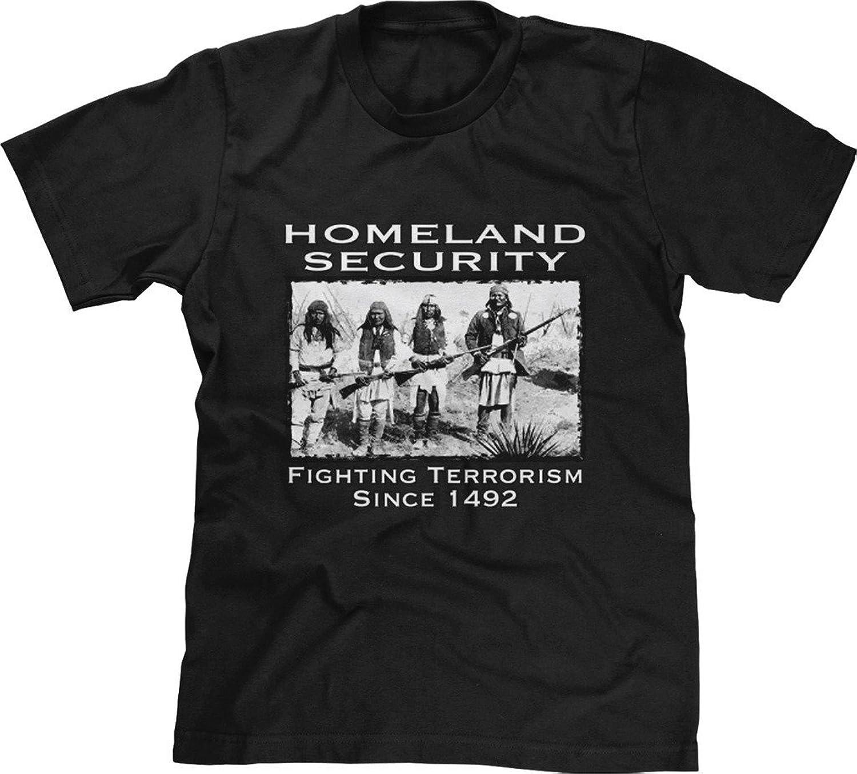 Blittzen Mens T-shirt Fighting Terrorism Since 1492