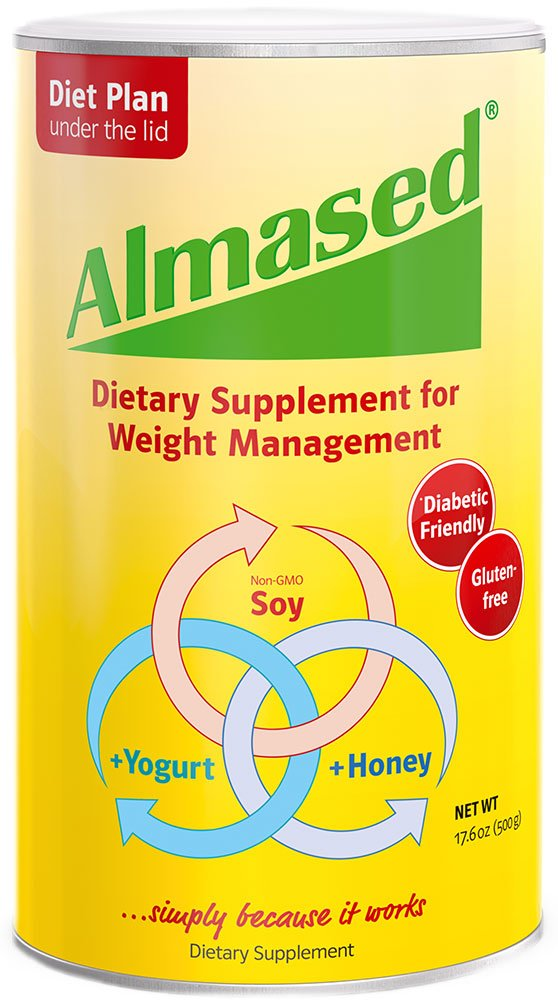 Almased - Multi Protein Powder - Supports Weight Loss, Optimal Health and Maximum Energy, 17.6 oz by Almased