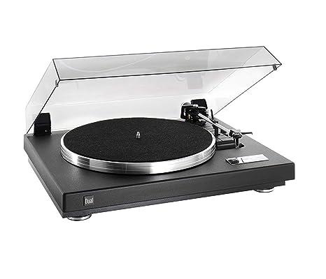 Dual CS 460 Tocadiscos estructura barniz negro/plata: Amazon.es ...