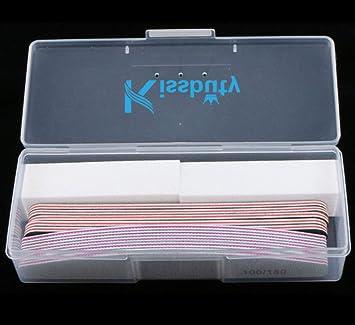Amazon.com: Kissbuty 12 piezas/caja mixta de manicura ...