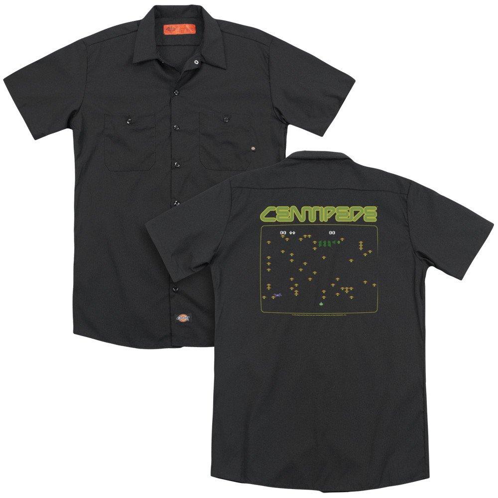 Atari Centipede Screen Adult Work Shirt
