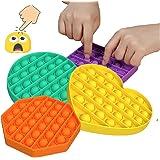 Push Pop Bubble Sensory Fidget Toy Set - STEM Anxiety Relief Items Popper Fidget Educational Toys for ADHD Autism Special Nee