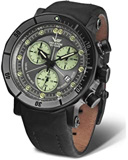 Vostok-Europe - Lunokhod 2 Grand Chrono - Tritium Tube - 6S30/6204212