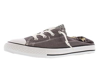 f5b65fd2747 Amazon.com  Converse Kids Chuck Taylorr All Starr Shoreline Slip Little Kid Big  Kid Charcoal Girls Shoes  Shoes