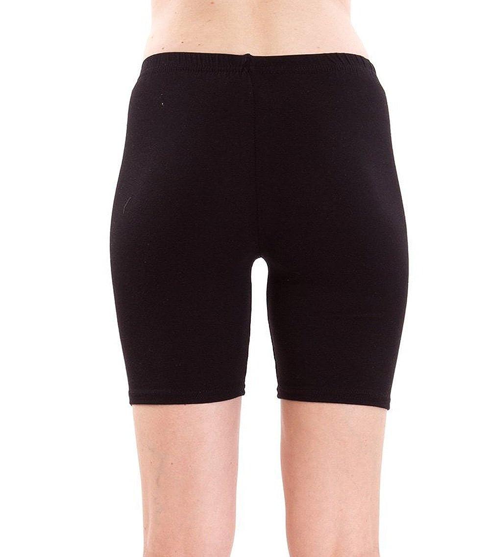 709bd40ca36 Fashion Line Women's Cotton Lycra Cycling Shorts