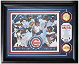 """MLB Chicago Cubs """"2015 Team Force"""" Gold Coin Photo Mint, Black"""