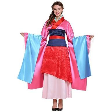332b69991ba14 Amazon.com: CosplayDiy Women's Chinese Hua Mulan Costume Dress Set ...