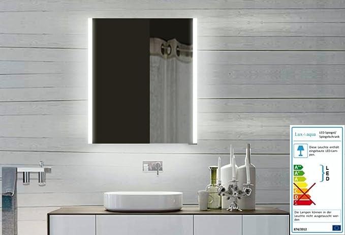 Top design armadio da bagno con cornice in alluminio specchio x