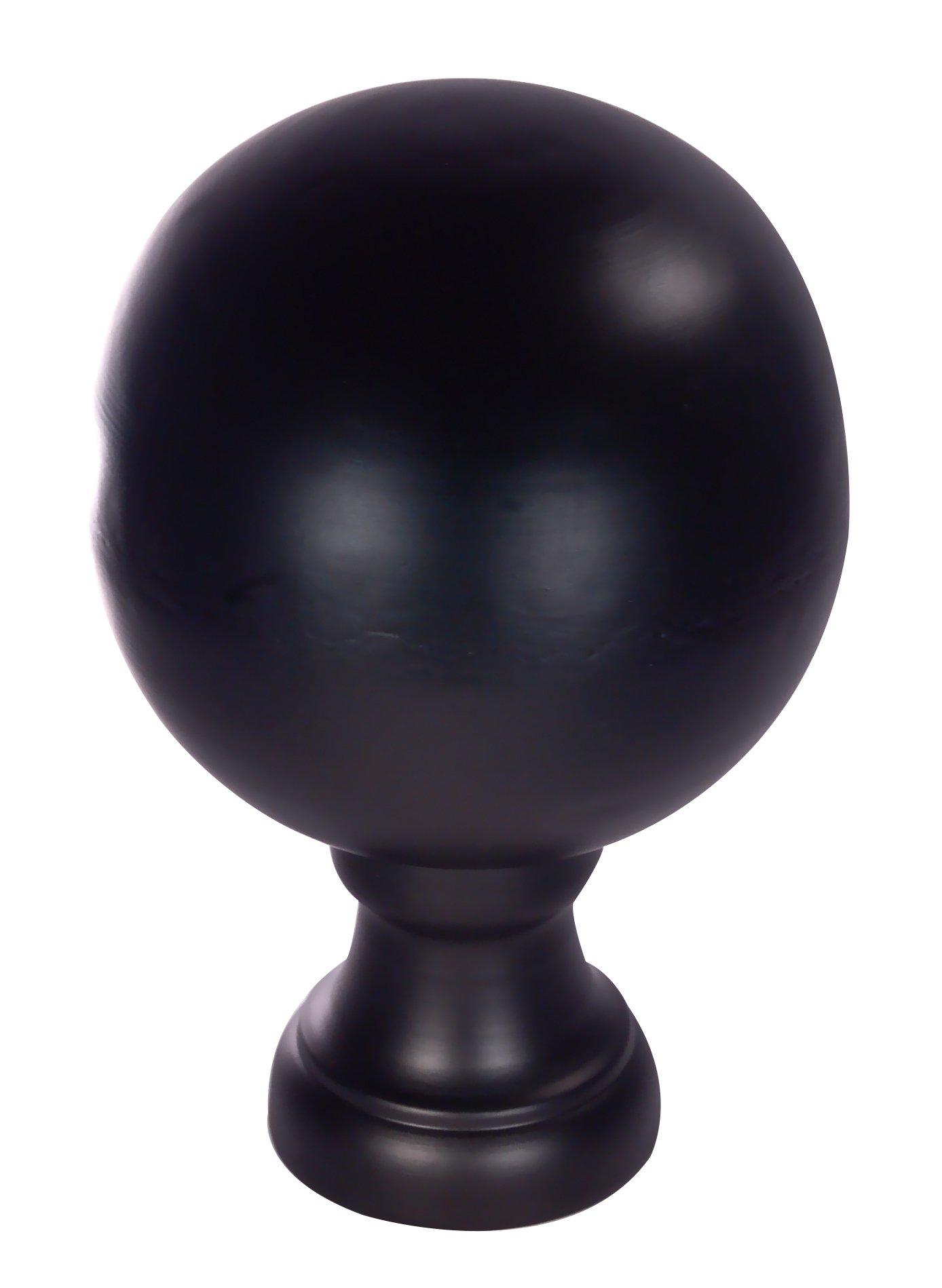 Dalvento Small Londoner Finial- Black Matte by Dalvento (Image #1)