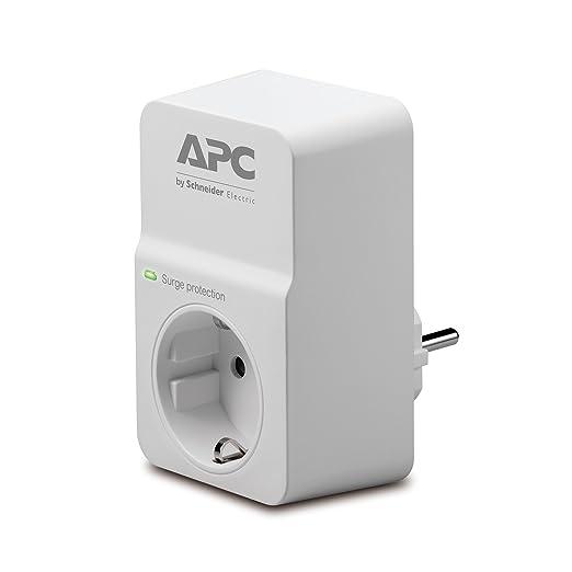 249 opinioni per APC Surge Arrest Essential- PM1W-IT- 1 uscita filtrata Schuko/Italiana