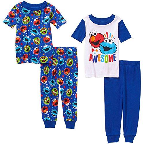Sesame Street Elmo Cotton Pajama
