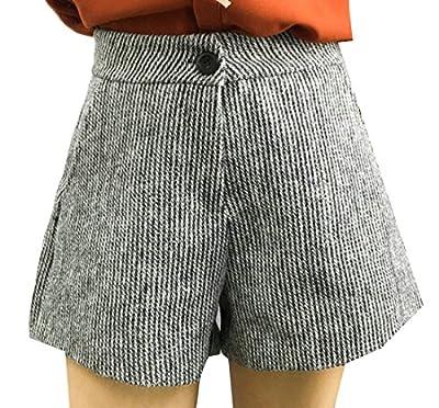 GenericWomen Generic Women¡¯s Stylish Shorts Woolen Boots Pants Short Commuter