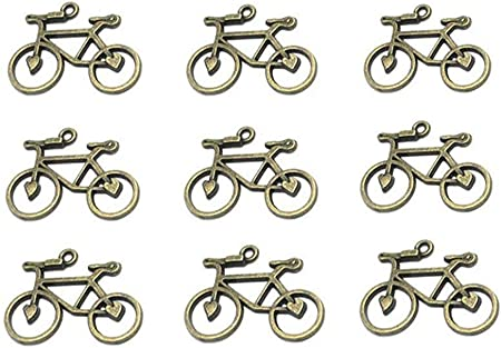 30 pcs key Bronze DIY Necklace Charms Pendant Findings Metal Jewelry Bracelet