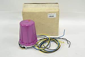 Honeywell, Inc. C7012A1145 Purple Peeper Ultraviolet Flame Detector 8 ft leads NEMA 4 3/4 in NPT Mtg
