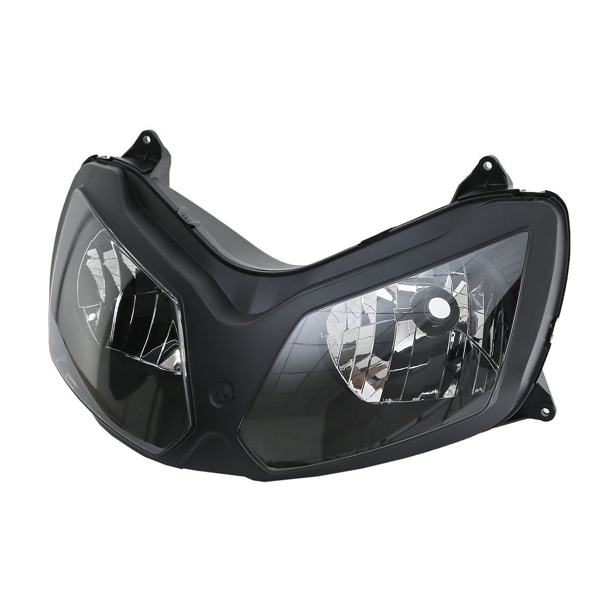 XFMT Front Headlight Headlamp Assembly Compatible with Kawasaki Ninja ZX12R ZX 12R 02-05 03 04