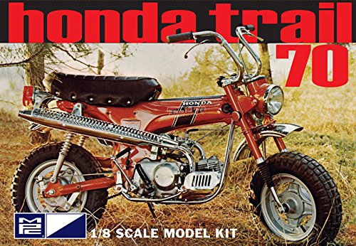MPC833 Honda Trail 70 Motorcycle Kit 1/8 Scale by MPC from MPC