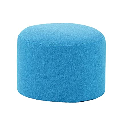 Amazon.com: LJHA ertongcanyi Stool, Home Round Sofa Fabric ...