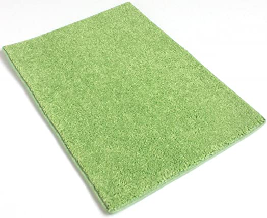 Koeckritz 8 x10 Mod Green 25.5 oz 1 2 Thick Plush Cut Pile Indoor Carpet Area Rug