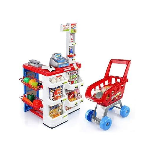 MKJYDM Simulación para Niños Supermercado Juguete Cinturón ...