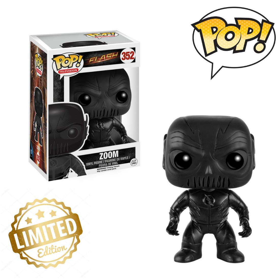 FUNKO POP TV THE FLASH Zoom Action Figure