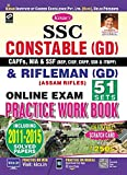SSC Constable (GD) & Rifleman (GD) Online Exam Practice Work Book English - 2287