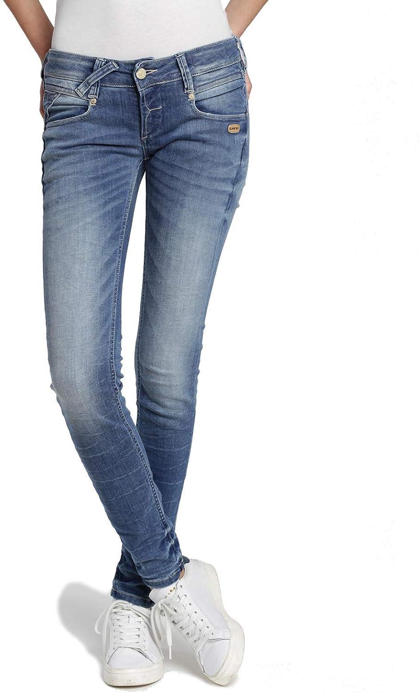 Gang Damen Skinny Jeans NENA Denim Truly Down Vintage