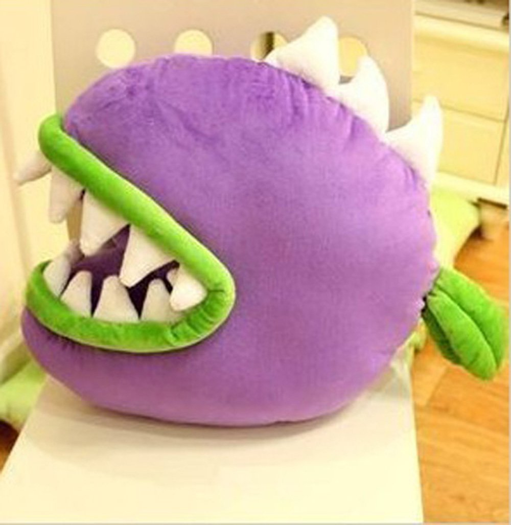 Plants Vs Zombies Piranha Plush Doll Toy Pillow Cushion Creative Birthday Gift Karazan