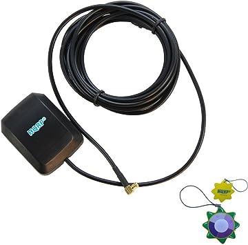 HQRP Antena GPS externa amplificada fijación magnética ...