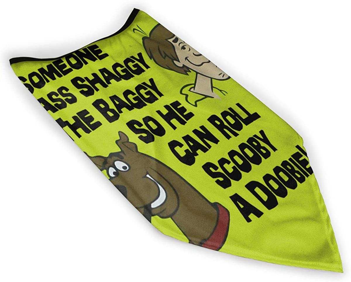 Someone Pass Shaggy The Baggy So He Can Roll Scooby A Doobie Outdoor Face Mouth Windproof Sports Ski