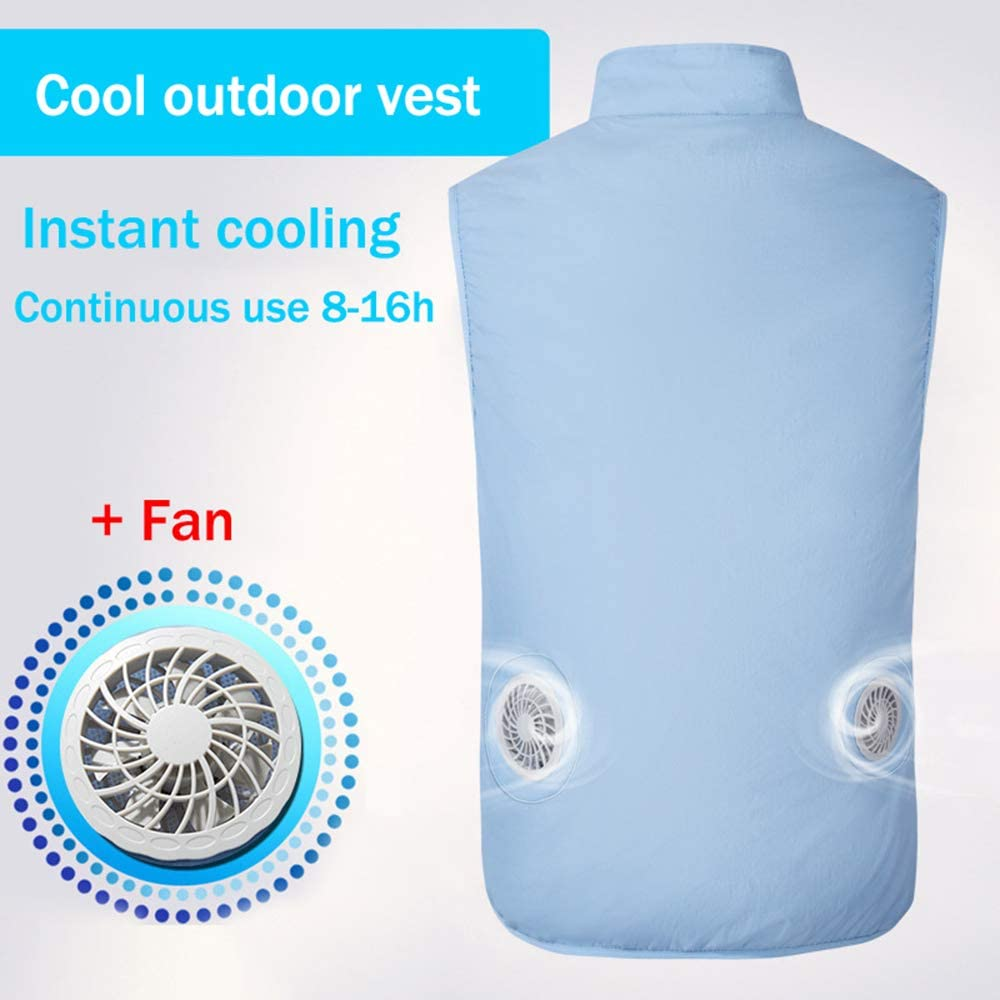 USB Cooling Vest Air Conditioning Clothes Smart Fan Outdoor Working Jacket Suit