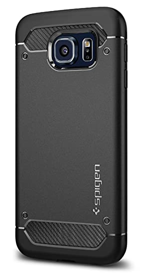 amazon com spigen rugged armor galaxy s6 case with resilient shockimage unavailable image not available for color spigen rugged armor galaxy s6 case