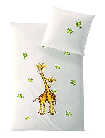 Hefel Tencel Bettwäsche Giraffe 135x20080x80 Cm 135 Cm X 200 Cm