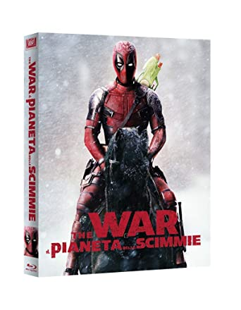 The War Il Pianeta Delle Scimmie Deadpool Collection Blu Ray
