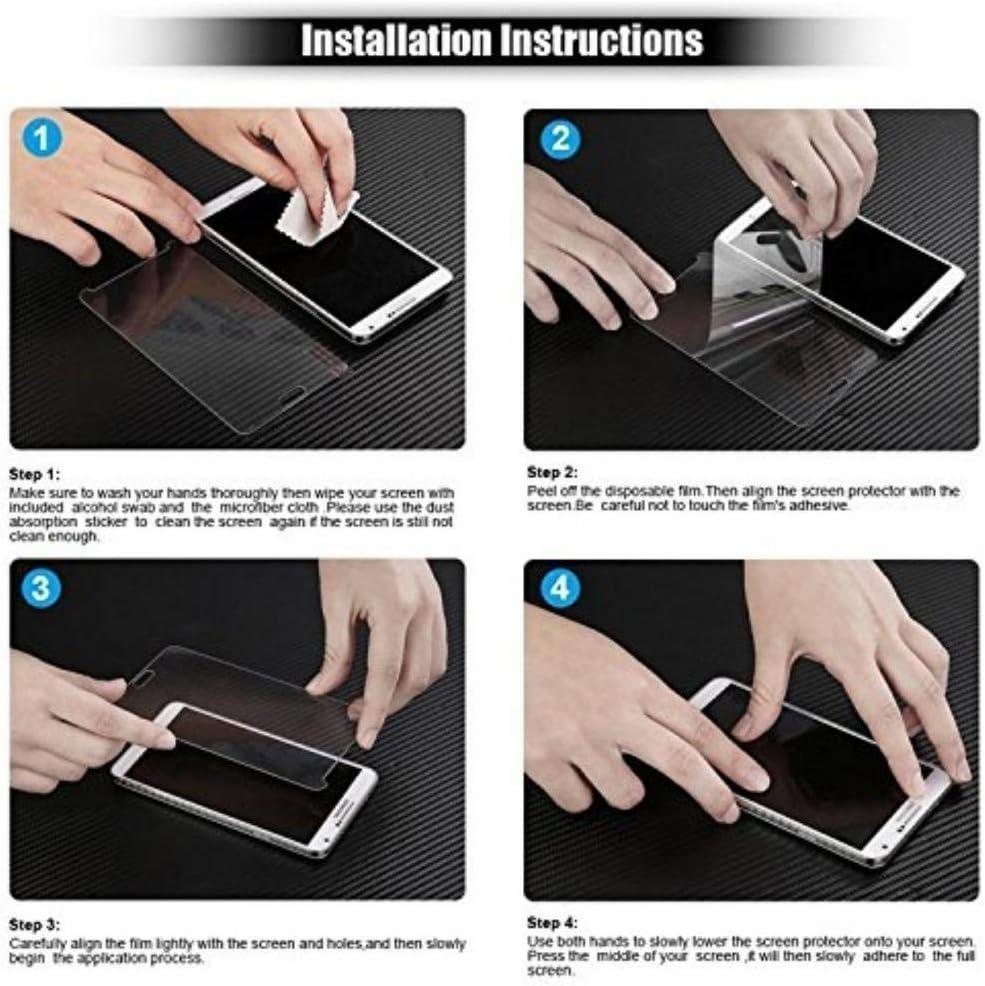 1 Pezzi 0.26mm HD Alta Trasparenza Pellicola Protettiva in Vetro Temperato per Samsung Galaxy S7 Nessuna Bolla Ramcox Vetro Temperato per Galaxy S7