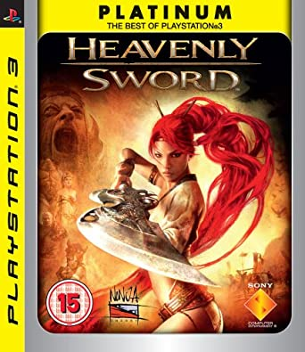 Amazon Com Heavenly Sword Bbfc Platinum Ps3 Video Games