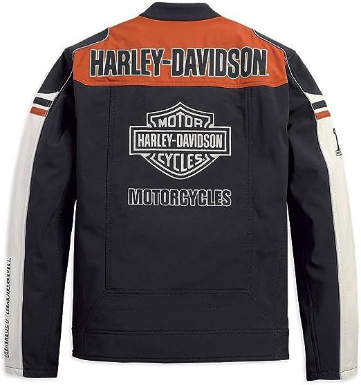 Harley Davidson 98405 19VM Men's Colorblock Soft Shell