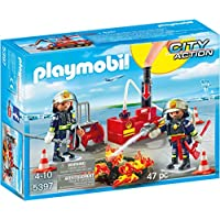 PLAYMOBIL® Firefighting Operation with Water Pump...