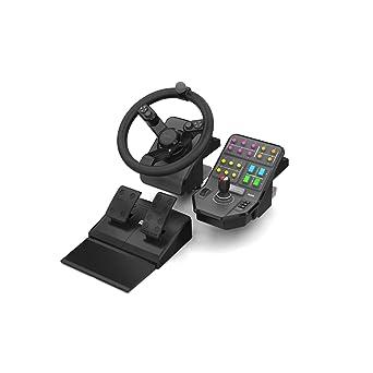 Saitek Landwirtschafts Simulator Lenkrad Pedale Fahrzeugsteuerung