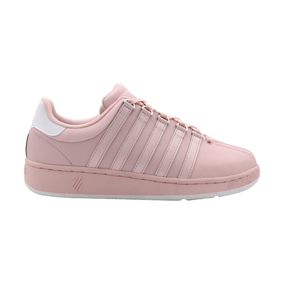 K-Swiss Women's Classic Vn Sneaker B01LXNZXHD 9.5 B(M) US|Potpourri/White
