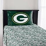 Northwest NFL Green Bay Packers Anthem Twin Sheet Set