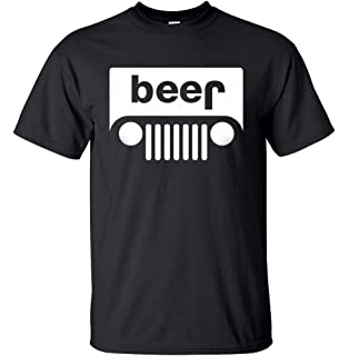 99ac7abf Amazon.com: Adult Beer Off Roading Funny Drinking T-Shirt: Clothing